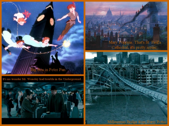 London Movie Collage